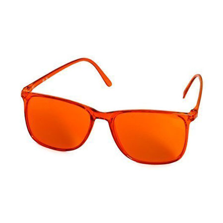 farbtherapiebrille f r stimmungsaufbauende wirkung orange. Black Bedroom Furniture Sets. Home Design Ideas